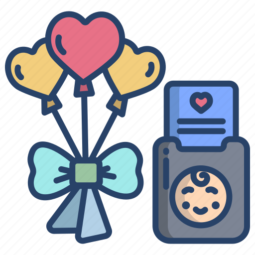 Baby, shower, elements icon - Download on Iconfinder