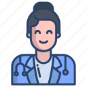 female, doctor