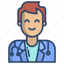 male, doctor