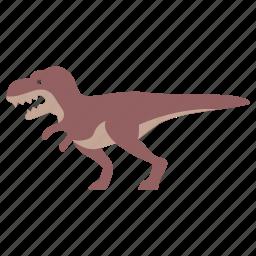 allosaurus, carnivore, dinosaur, jurassic, rex, t-rex, tyrannosaurus icon