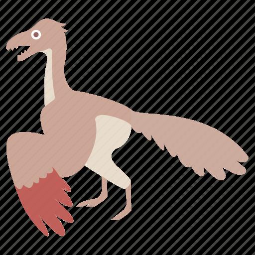 archaeopteryx, bird, dinosaur, jurassic, prehistoric, urvogel icon