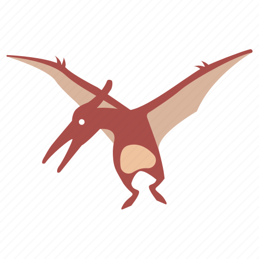cretaceous, dinosaur, flying, pterodactyl, pterosaur, winged icon