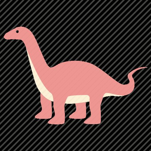 apatosaurus, brachiosaurus, brontosaurus, dinosaur, diplodocus, jurassic icon