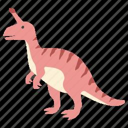 bill, crested, dinosaur, duck, duckbill, hadrosaur, tsintaosaurus icon
