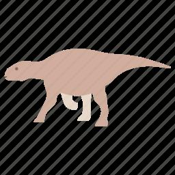 cretaceous, dinosaur, hadrosaur, herbivore, herbivorous, iguanadon, jurassic icon