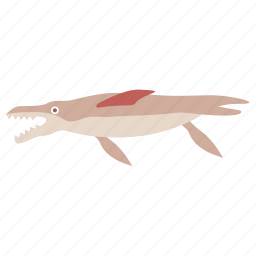 creature, cretaceous, dinosaur, kronosaurus, marine, pliosaur, sea icon