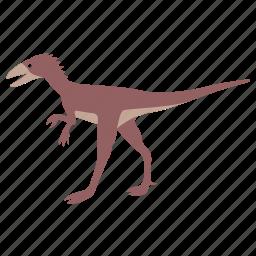 compsognathus, cretaceous, dinosaur, egg, sinosauropteryx, stealer icon