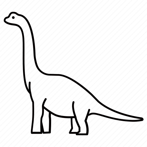 apatosaurus, brachiosaurus, brontosaurus, dinosaur, herbivorous, ultrasaurus icon