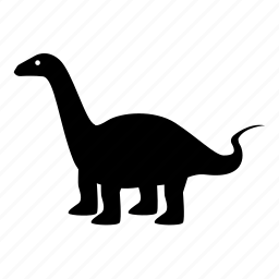 apatosaurus, brachiosaurus, brontosaurus, dinosaur, diplodocus, jurassic, long neck icon