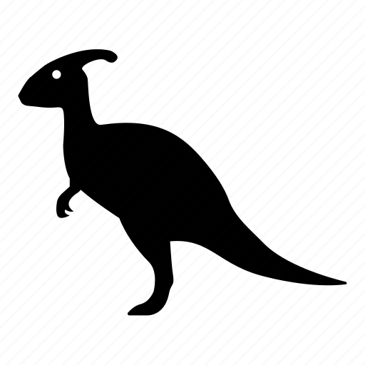 charonosaurus, crested, dinosaur, duckbill, herbivore, jurassic, parasaurolophus icon