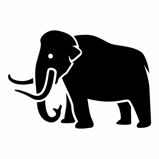 animal, elephant, mammoth, prehistoric, wooly icon