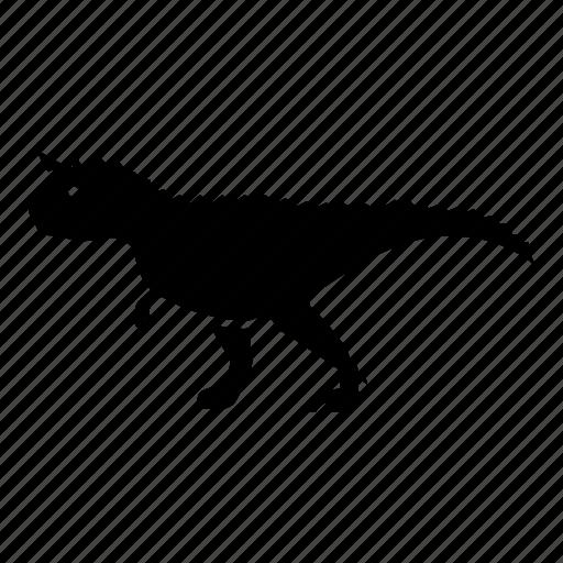 carnivore, carnotaurus, cretaceous, dinosaur, jurassic, predator icon