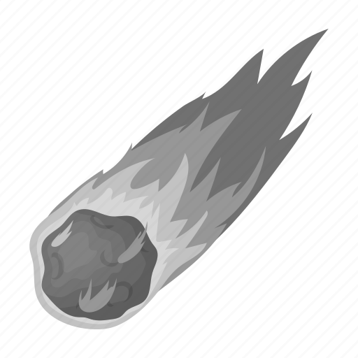 Atmosphere, explosion, fire, meteorite, space, trail icon - Download on Iconfinder