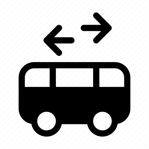 bus, service, shuttle, transportation, vehicle icon