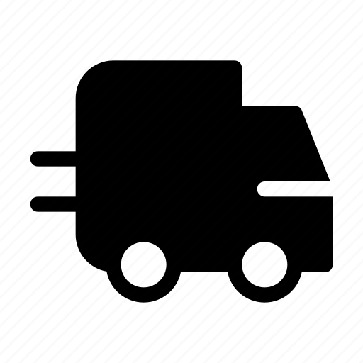 delivery, express, fast, parcel, truck icon