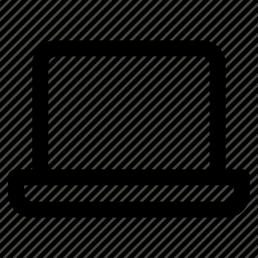 communication, computer, laptop, presentation, technology icon