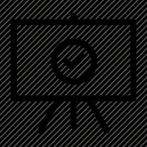 board, business, demo, presentation, training, workshop icon