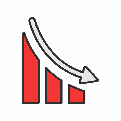 bar graph, chart, data analysis, marketing icon