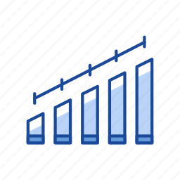 bar graph, chart, graph, growth, sales icon