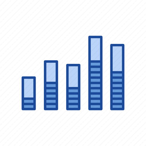 bar, bar graph, chart, sales icon