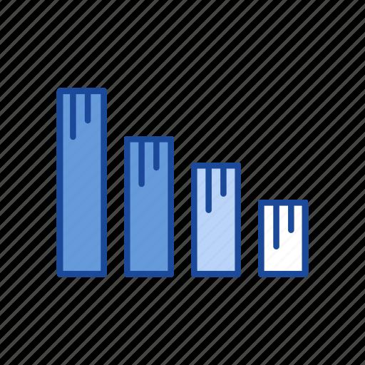 bar graph, chart, sales, statistic icon