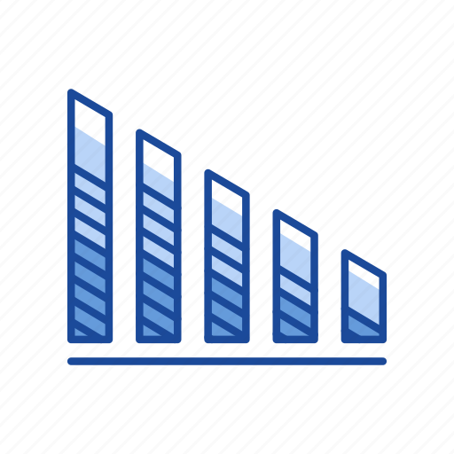bar graph, chart, sales, statistic icon