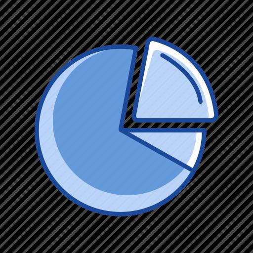 chart, data analysis, pie graph, pizza icon