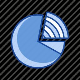 chart, circle, diagram, pie graph icon