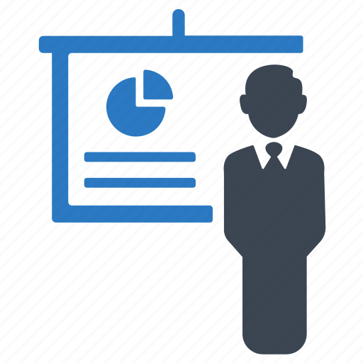 analysis, business, business meeting, presentation icon