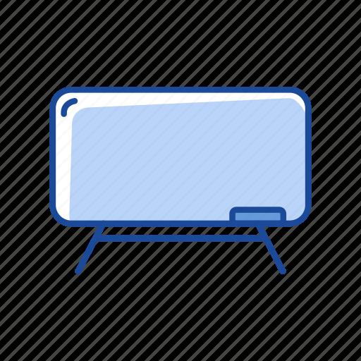 board, lecture, stand, white board icon