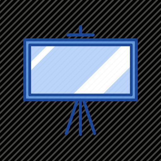 board, lecture, projector, white board icon