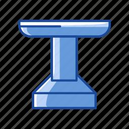 conference, platform, podium, pulpit icon