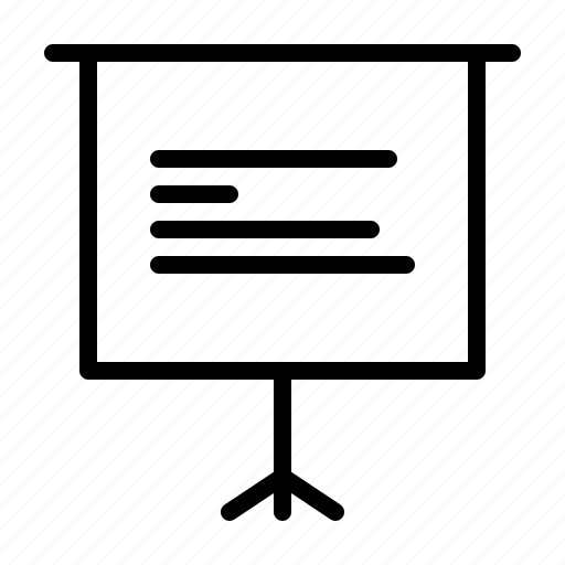 bar, canvas, chart, horizental, keynote, powerpoint, presentation icon