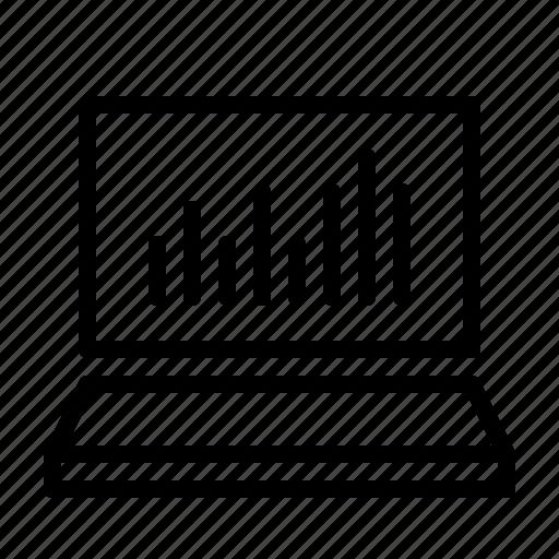 Bar, chart, keynote, notebook, powerpoint, presentation, speech icon - Download on Iconfinder