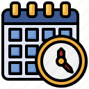 schedule, calendar, date, time, administration