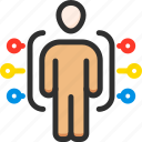 business, conference, man, points, presentation, presenter, speech icon