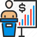 business, finance, man, presentation, presenter, speech, stats