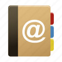 addressbook, contact, contacts icon