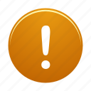 alarm, alert, danger, warning icon