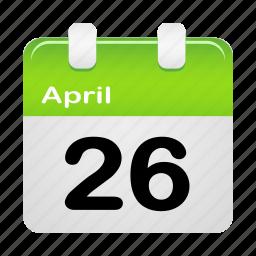 calenda, calendar, date, schedule icon