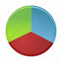analytics, chart, data, diagram, graph, pie, report icon