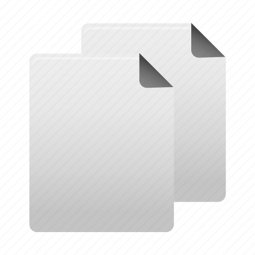 copy, document, duplicate, file, files, page, paper icon