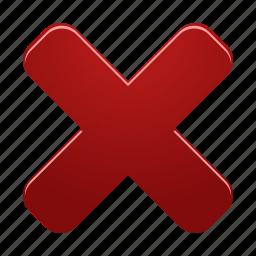 cancel, close, delete, delete2, remove icon