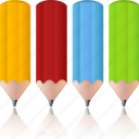 color, colorpencils, design, edit, paint, palette, pencil, pencils icon