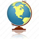 earth, education, geography, globe, internet, planet, school, study, world icon