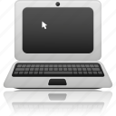 computer, connection, connections, display, internet, laptop, monitor, network, notebook, screen, wireless icon