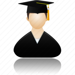 account, education, graduate, human, learning, male, man, men, people, profile, school, student, training, user, users icon
