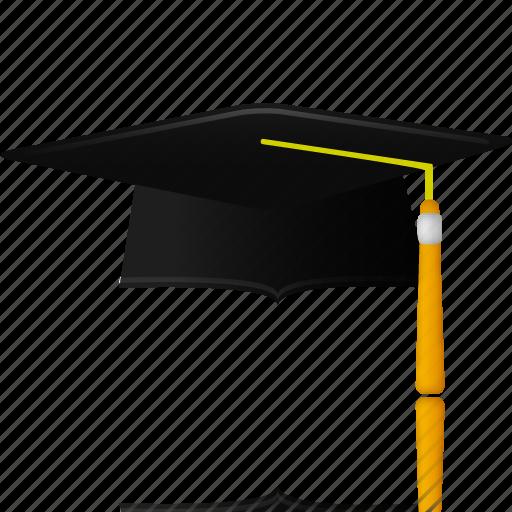 cap, graduation, hat, trencher icon