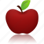 apple, education, school icon
