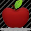 apple, fruit, study, education, learning, training